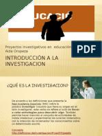 Presentacion de Introduccion a La Investigacion de Aida