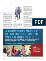 Chronicle of Higher Education Diverse Enrollment