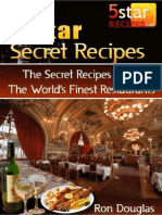 5 Star Secret Recipes
