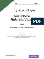 Tafsir Al Quran Al Karim Hidayatul Insan Jilid 2