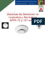 Sistemas de Deteccion vs Incendios y Normativa NFPA 72 y 101 en LA 03 Sistemas de Deteccion vs Incendio y Evacuacion Segun Normativa NFPA 72 y 101 en Latinoamerica Manuel Villanueva Honeywell Notifier