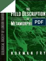 Field Description of Metamorphic Rocks