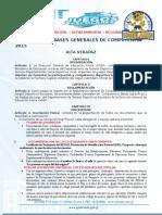 Bases Generales de Competencia Fase Municipal-Departamental