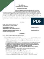 jones 2015 resume online