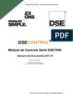 Manual DSE 7320