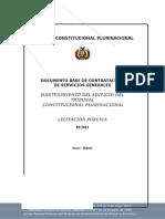 3347d1_dbc Mantenimiento Edificio - Lp Convocatoria Ultimo2