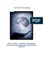 PSYA1 Complete Key Studies Booklet