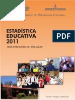 Revista 2011 Estadística Educativa