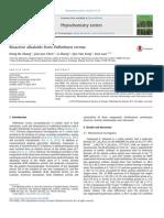 Bioactive alkaloids from Palhinhaea cernua