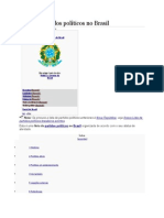Lista de Partidos Políticos No Brasil