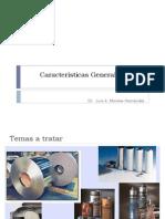 Caracteristicas Generales de Los Metales