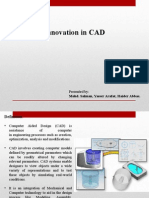 Innovation in CAD