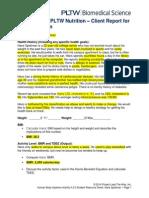 client report