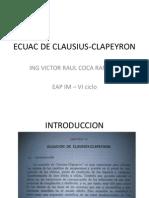 Ecuac de Clausius-clapeyron para adolescentes que quieren aprendes mucho mas