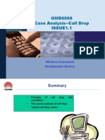 OMD6068 Case Analysis--Call Drop ISSUE1.1.ppt
