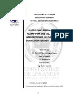 DISEÑO E IMPLEMENTACIÓN BAJO PLATAFORMA WEB  DEL  SISTEMA DE INTERRUPCIONES (SI) PARA LA PLANTA DE BRIQUETAS (MATESI) DE SIDOR C.A