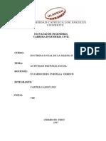 Modelo de Informe Pastoral Social
