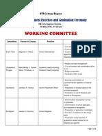 Graduation 2015 Committee
