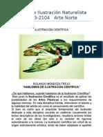 Curso de Ilustración Naturalista 2013
