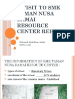 A Visit to SMK Taman Nusa Damai Resource