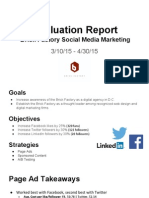 smm evaluation report