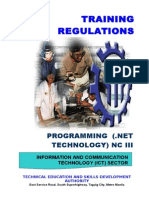 TR - Programming (NET Technology) NC III