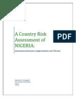 Country Risk Assessment_NIGERIA