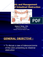 Colonic Cancer. Presentation.. docdani_ph