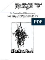 101 Strange Religious Rites