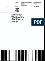 EPA_Design Manual_Municipal Wastewater Stabilization Ponds