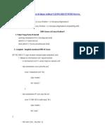 Konfigurasi Di Linux Redhat 9 (DNS,DHCP,WEB Server, Samba,FTP)