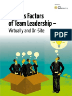 Success Factors Team Leadership