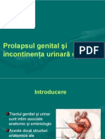 Prolapsul Genital Si IUE