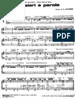 [Spartiti Pianoforte] Lucio Battisti - Pensieri E Parole