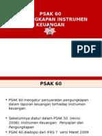 PSAK 60 Instrumen Keuangan Pengungkapan 15122014