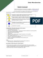 Quick Manual Solar 260 v1.0