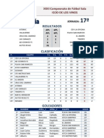 XXXI Campeonato de Fútbol Sala ICOD De