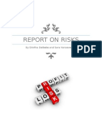 revised report on risks