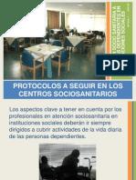 Protocolos centros sociosanitarios