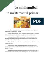 Jocul de Minihandbal Doc 2003