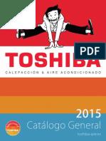 Catalogo Toshiba 2015 Aire Acondicionado