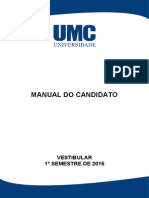 MANUAL DO CANDIDATO 2015