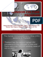 updated condom intervention program pp