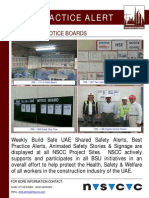 81 Bsu Best Practice Alert - Safety Notice Boards