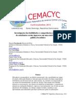 Investigação das habilidades e competências estatísticas