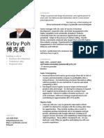 Kirby Poh - Resume