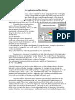 Spectrophotometry Handout