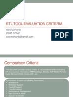 etltoolevaluationcriteria-120705022602-phpapp02