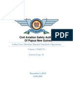 Cabin Crew Member Manual Standards Operations Vol 2 Part f1