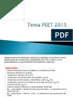 Indicatii Tema de Casa PEET 2015